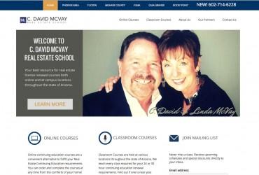 C. David McVay School Website