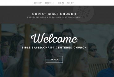 Christ Bible Church Website
