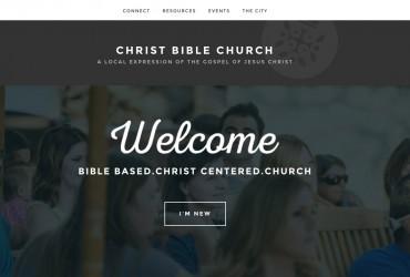 Christ Bible Church Website