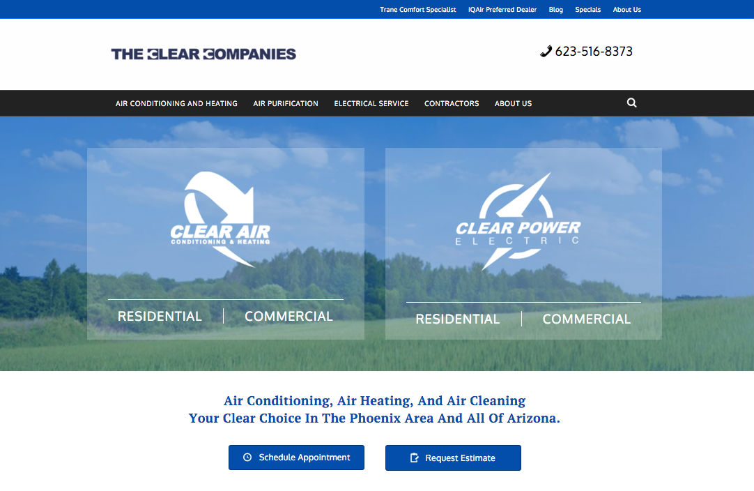 Clear Companies Website